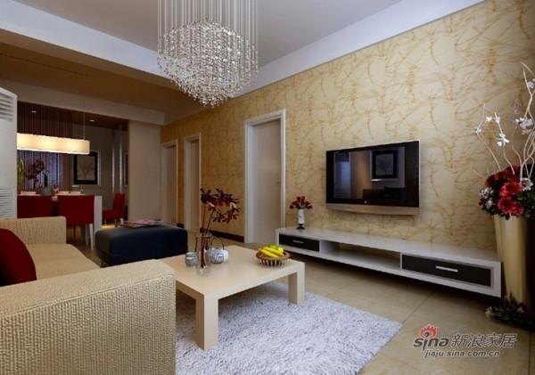 现代简约式客厅