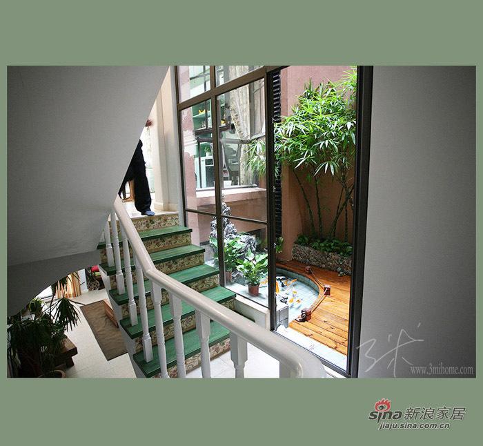 田园 二居 楼梯图片来自用户2737791853在小资70平田园纯美二居88的分享