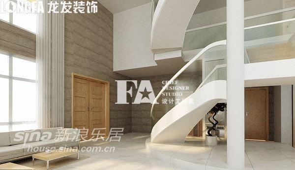 简约 别墅 楼梯图片来自用户2558728947在公司总裁自建520平 极简中的奢华21的分享