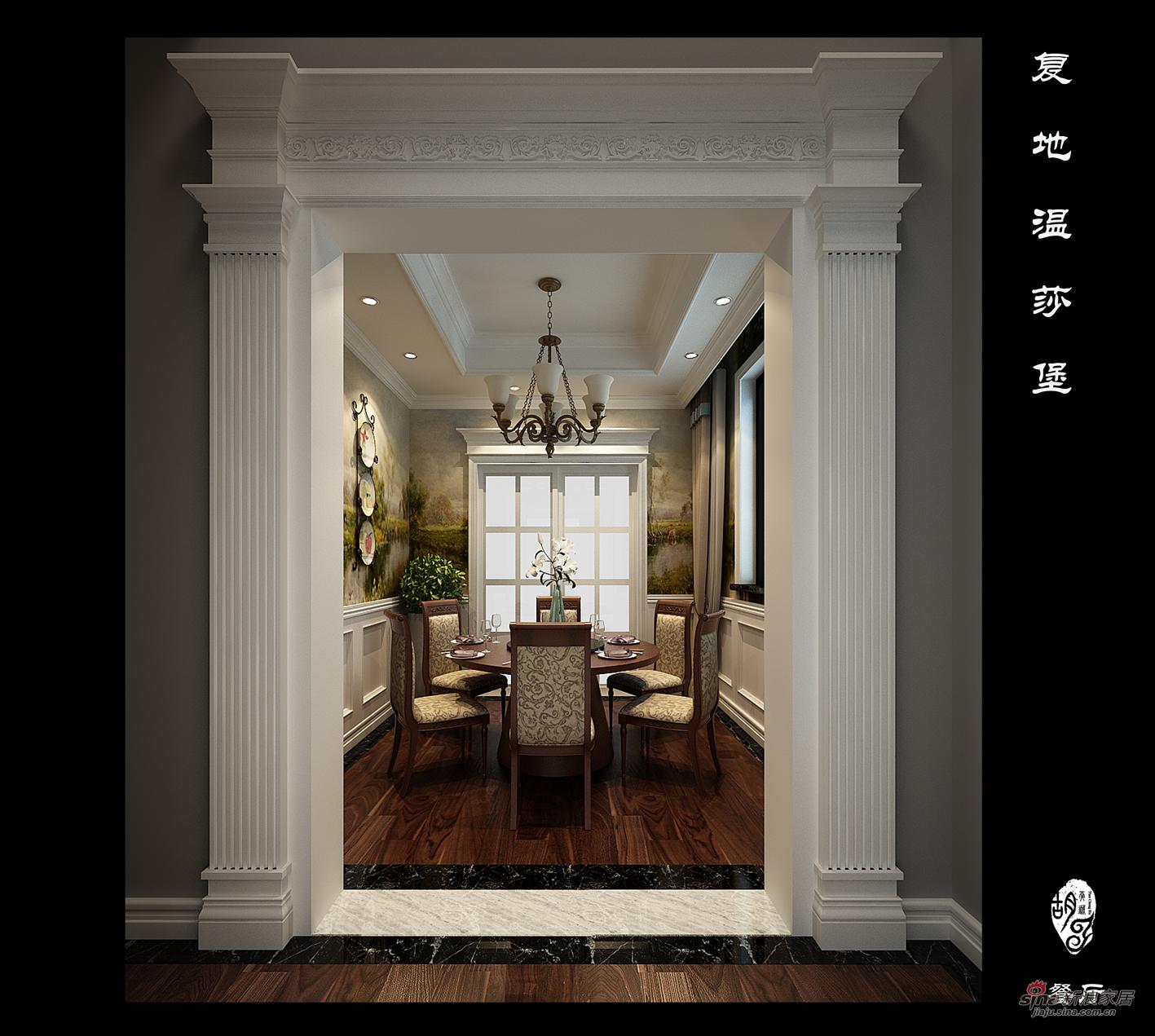 欧式 别墅 玄关图片来自用户2746889121在别墅装修设计效果图70的分享