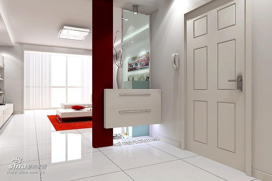 简约 三居 客厅图片来自用户2739081033在沸城极简户型设计48的分享