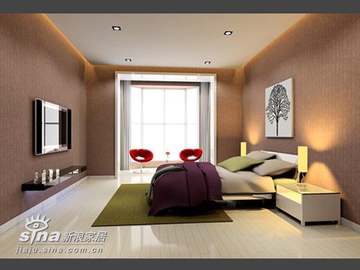 简约 二居 卧室图片来自用户2745807237在望京新城简约设计58的分享
