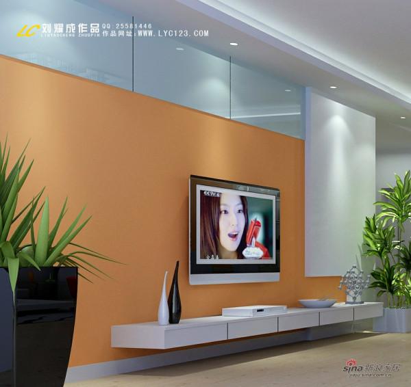 申奥美域-电视背景墙