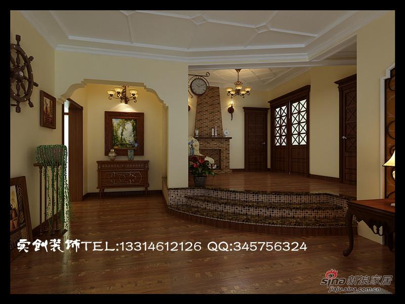 欧式 四居 客厅图片来自用户2746869241在14.1万打造大四居简约欧式57的分享