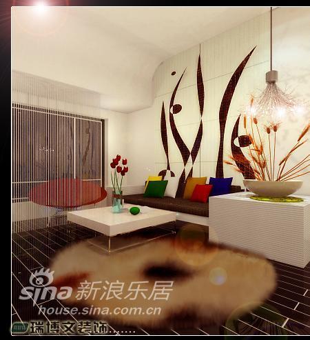简约 二居 客厅图片来自用户2737735823在现代简约两居96的分享