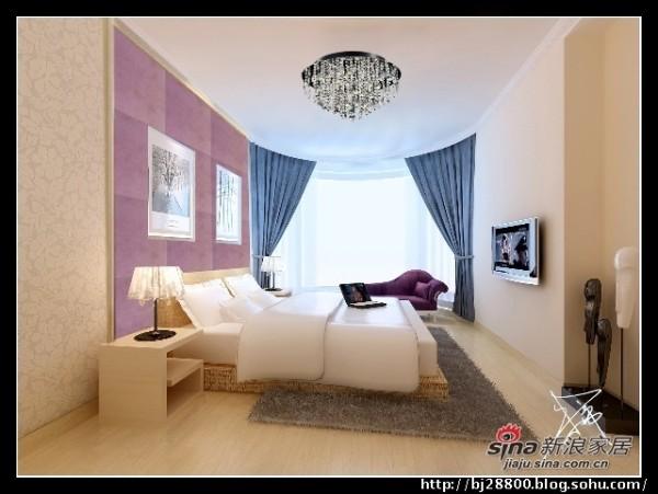 简约 三居 卧室图片来自用户2737782783在小巧妈花8万打造145㎡简约温馨3居22的分享
