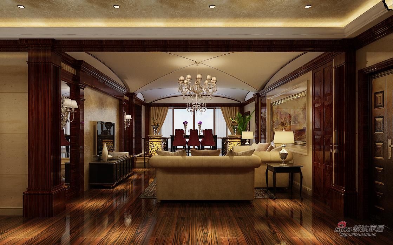 中式 三居 客厅图片来自用户1907696363在壹江南中式装修93的分享