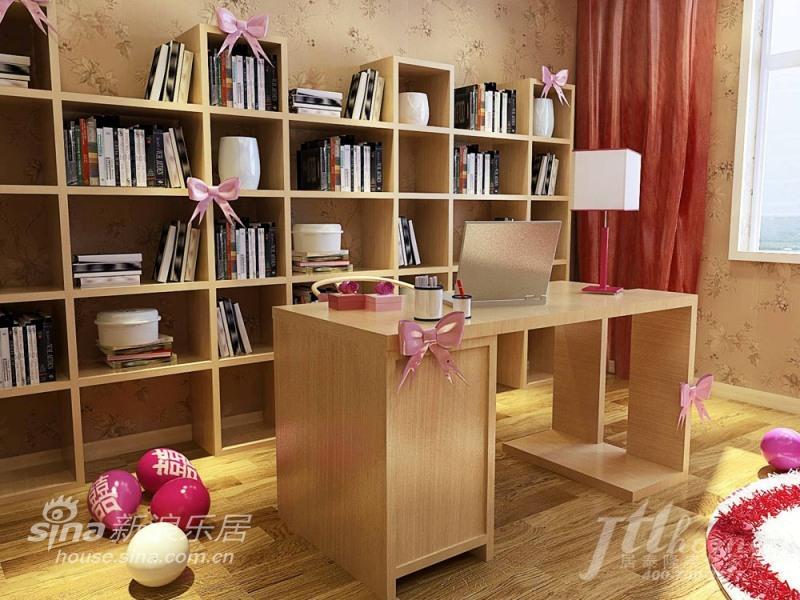 简约 三居 书房图片来自用户2737759857在充满喜庆的婚房41的分享