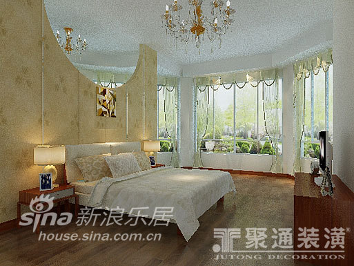 简约 一居 卧室图片来自用户2739378857在湖滨庄园75的分享
