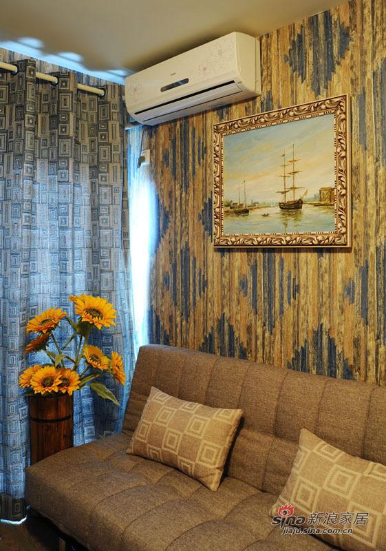 地中海 复式 书房图片来自佰辰生活装饰在99平唯美地中海清凉浪漫家44的分享