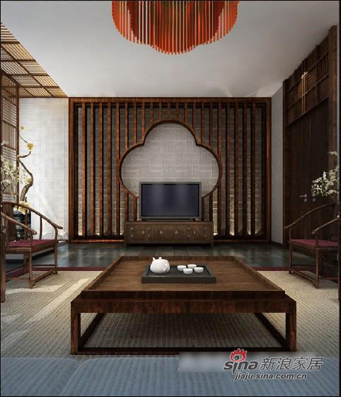 中式 三居 客厅图片来自用户1907659705在创意中式别墅设计78的分享