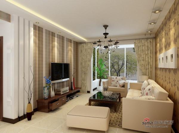 客厅背景设计方案二