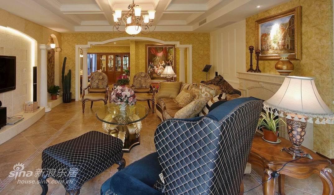 欧式 复式 客厅图片来自用户2557013183在上海滩花园洋房27的分享