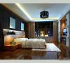140平现代简约风格错层卧室设计