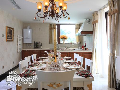 欧式 别墅 餐厅图片来自用户2557013183在达观别墅13的分享