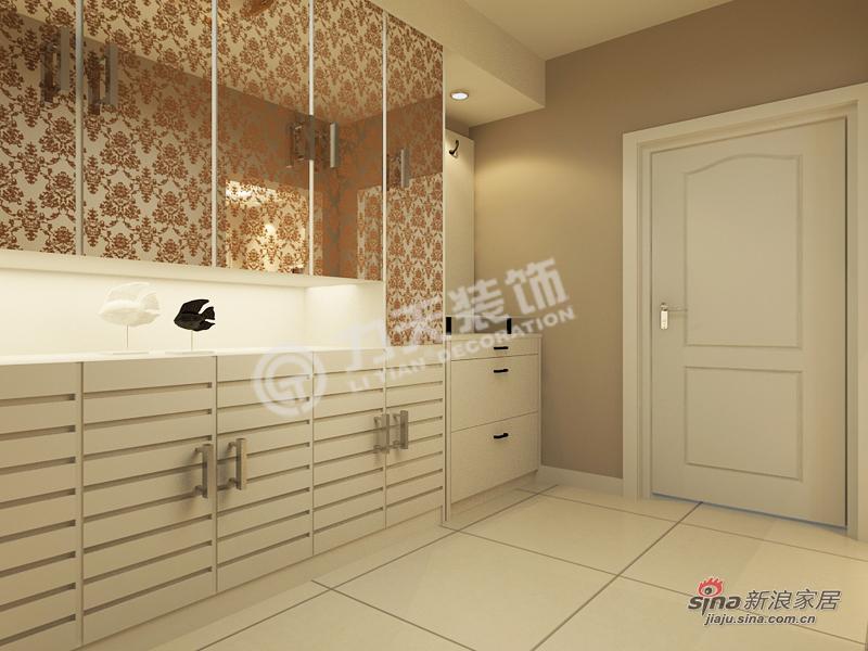 简约 三居 玄关图片来自阳光力天装饰在福源九方-三室两厅一厨一卫-现代简约83的分享