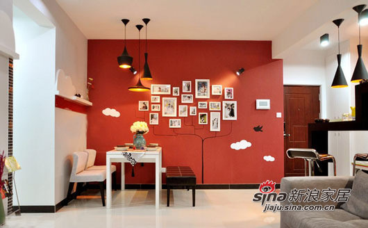 餐区照片墙