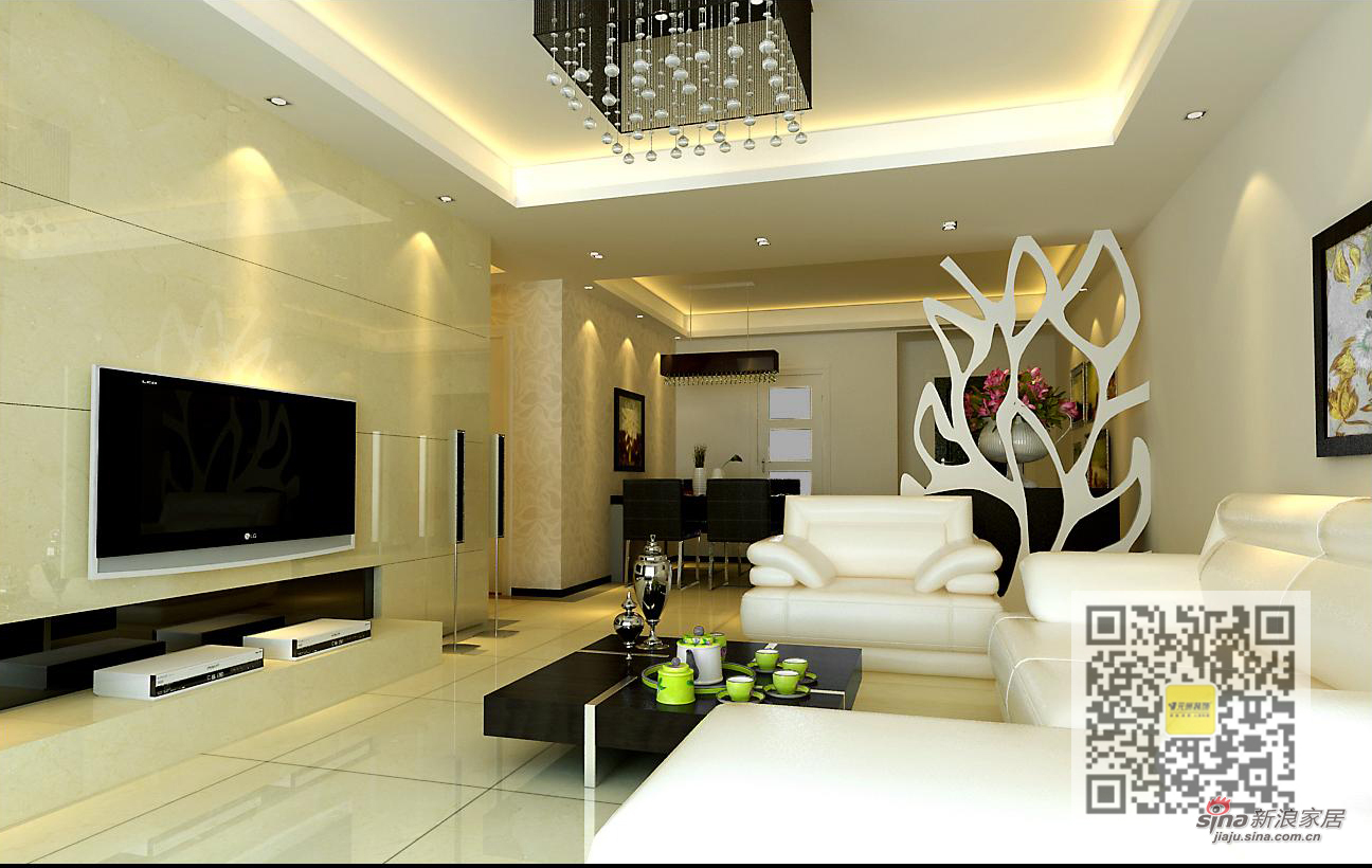 欧式 三居 客厅图片来自用户2746948411在浮华背后的简欧风格三居室44的分享