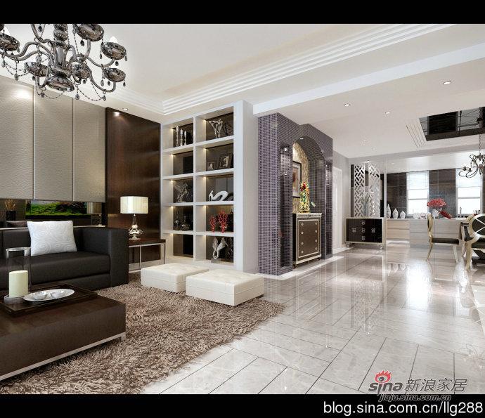 混搭 三居 客厅图片来自用户1907691673在欧式与现代的完美结合168平三居室63的分享