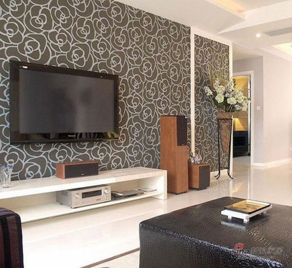 现代 二居 客厅图片来自用户2772840321在都市型男100平简约黑白气质两居53的分享