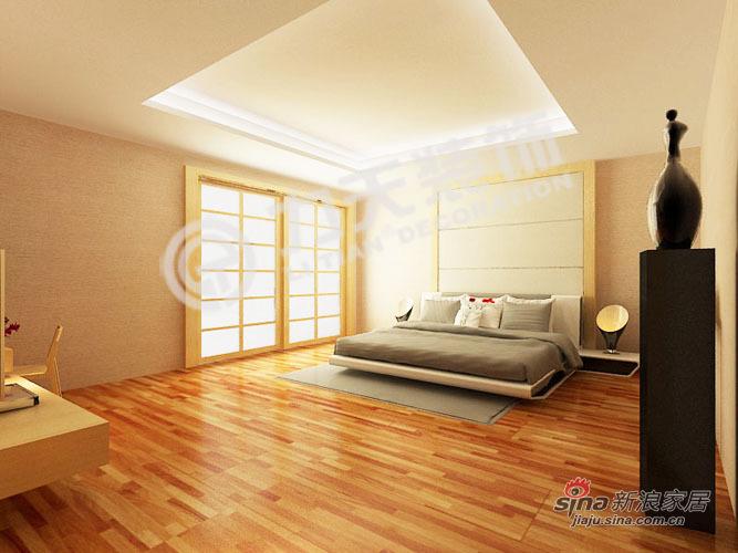 欧式 别墅 卧室图片来自阳光力天装饰在216平空间优化通用陆院70的分享