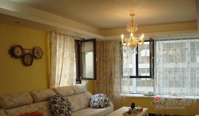 简约 三居 客厅图片来自用户2738829145在9万打造100平时尚简约三居46的分享