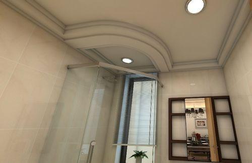防水石膏板吊顶适合用在卫生间