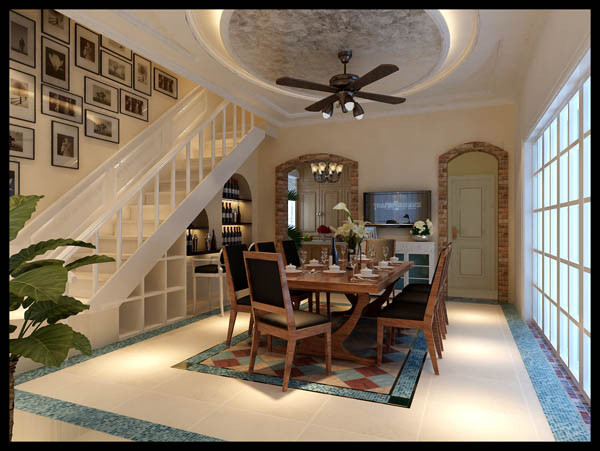 结构加建,使厨房变宽敞,改变了从车库进入别墅要经过室外庭院的弊病,并增加室外庭院存储空间。