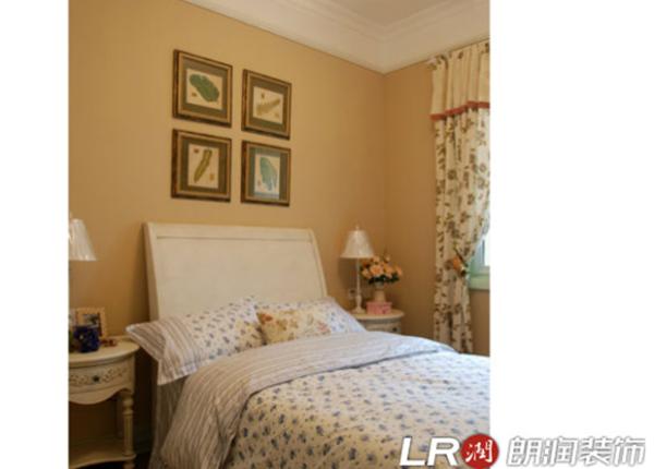 田园 美式 碎花 混搭 卧室图片来自朗润装饰工程有限公司在89平公主范