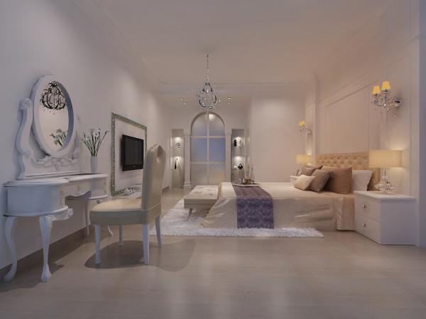 卧室主张在有限的空间发挥最大的使用效能。家具选择上强调让形式服从功能,一切从实用角度出发,废弃多余的附加装饰,点到为止。简约,不仅仅是一种生活方式,更是一种生活哲学。