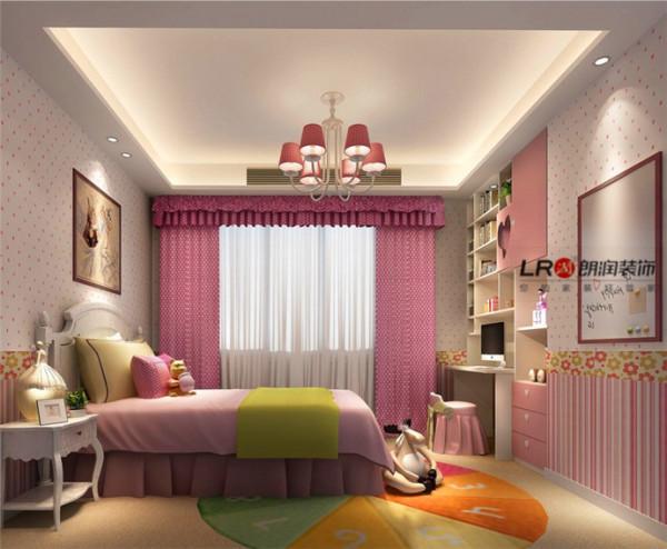 住在在粉粉房间的是一位可爱小公主