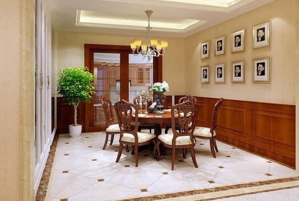 明亮优雅的客厅,居家用餐还是招待宾客两相宜