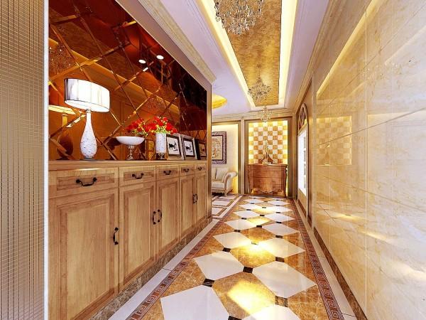 结构处理上,原车库做成门厅(原车库改位),增强别墅的大气和私密性
