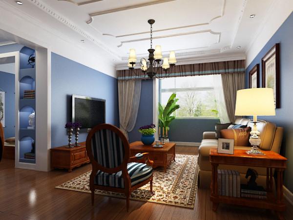 客厅以雍容华贵的金色质感+幽雅艺术雕刻,佐以浪漫的红橡木色为主基调,从简单到繁杂,
