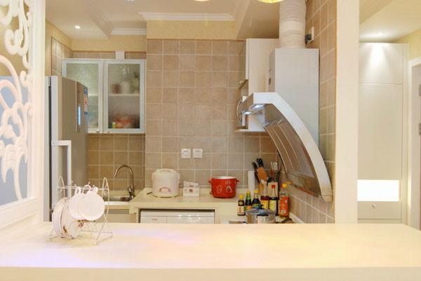 媒体村小区-现代简约-一居室-装修案例设计说明——厨房