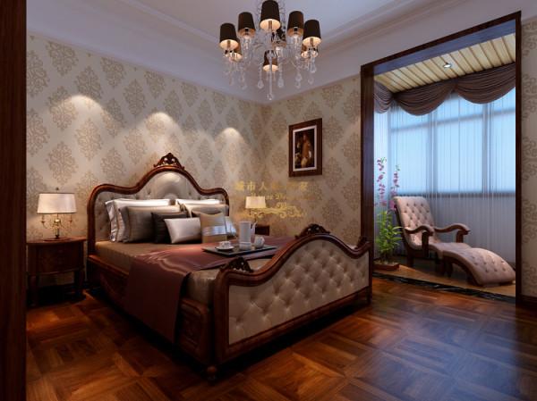 次卧室达到主次分明的效果。