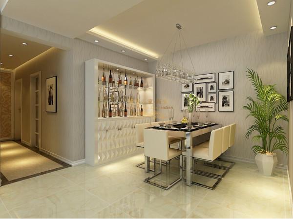 告别单调沉寂的黑白色,取暖色为房间主色调,温馨婉约,高贵宁静。