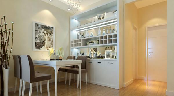 光谷新世界三居室装修设计