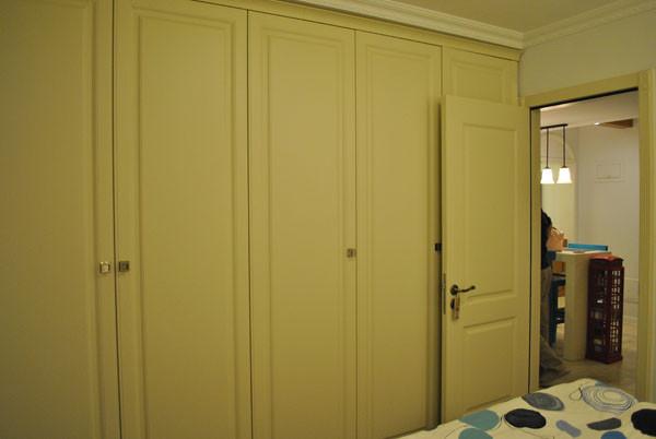 朝阳金蝉南里小区,52平米一居地中海风格设计案例——卧室