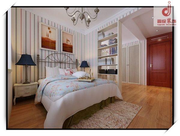 次卧室设计效果-古典中式