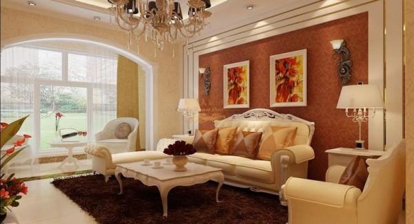 紫薇希望城126.43平米三居室装修设计