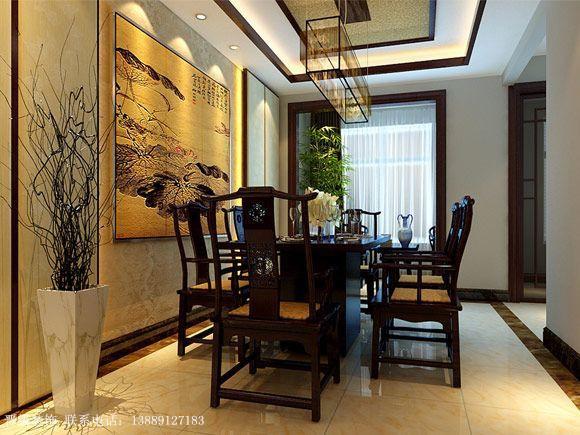 中式风格-餐厅设计