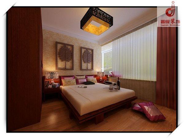 卧室设计效果-古典中式