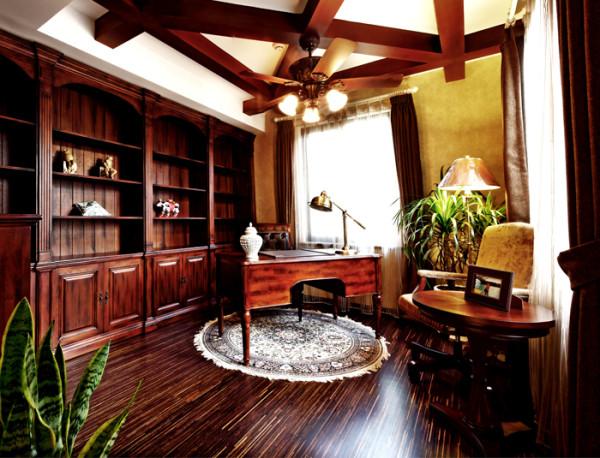 香山清琴 书房 书桌