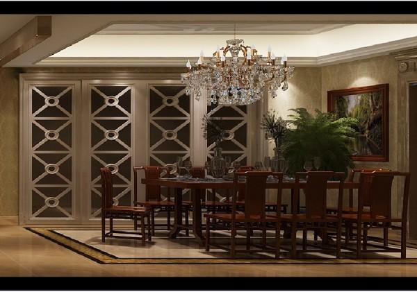 在装潢与陈设中溶古今中西于一体,传统的屏风、摆设和茶几,配以现代风格的墙面及门窗装修