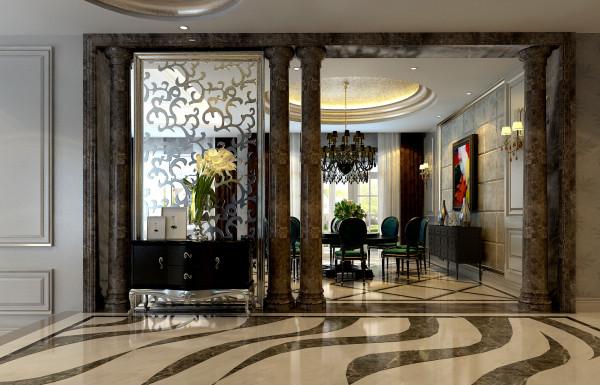 保利垄上 568平 新奢华装修风格,新奢华风格追求的是不按惯性出牌的设计,而追求独特的个性是新奢华风格设计的推动力。