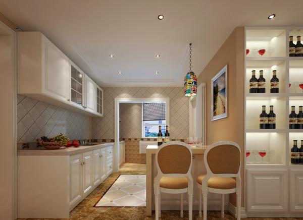 设计理念:开放式厨房的概念源于法国,不但在设计上扩大了厨房的空间,而且打破了传统的装修要求,让装修更加多样化和个性化.