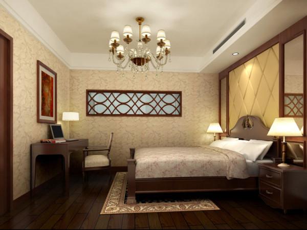京贸国际城--L户型次卧室效果图