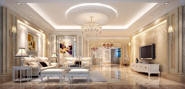 浅淡明快的色调,开阔的空间视角,清晰的质感与肌理,营造了一种不一样的新古典白色古韵欧式