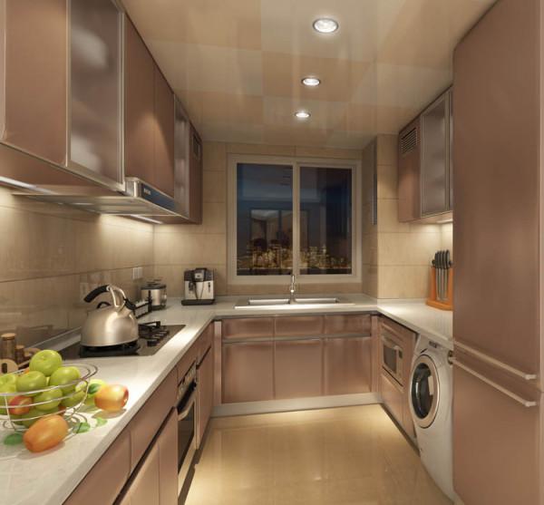 金地朗悦--复式112平米厨房效果图